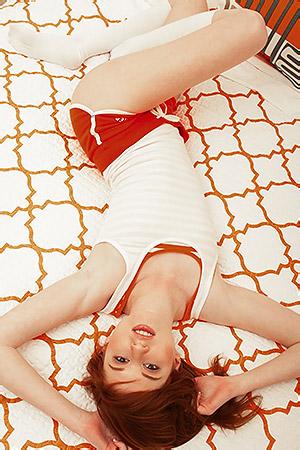 Hot Redhead Nikki Leigh