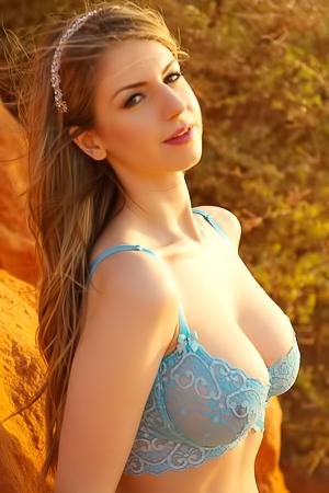 Stella Cox Nude By The Sea