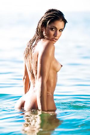 Curvy Brazilian Playmate Marcella Matos