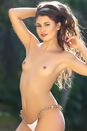 Demi Fray Glamour Naked Playmate