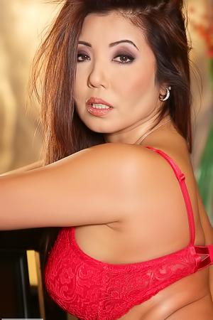 Busty Asian Model Getting Fucked Hard