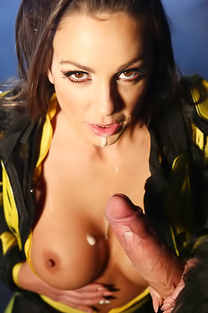 Abigail Mac Hardcore In Power Bangers XXX Parody