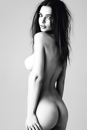 Sensual Nudes In Black And White Set
