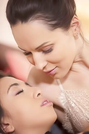Frida Sante And Lilu Lesbian Sex