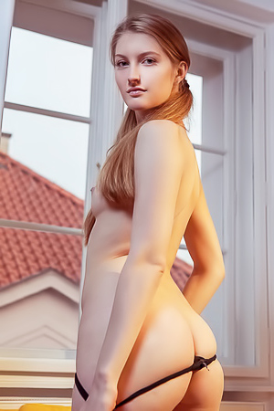 Sexy Bretona Doing Sports