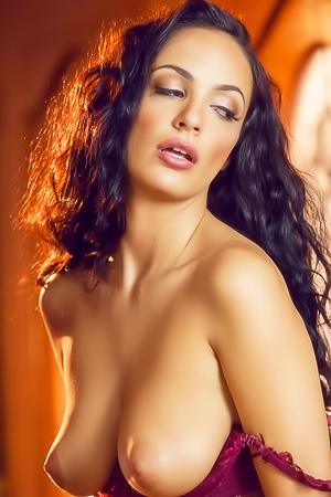 Luscious Vixen Sofi Ryan Strips Her Sexy Lingerie
