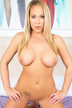 Busty Blonde Olivia Austin