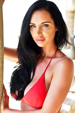 Paige P In Red Bikini