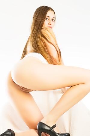 Anna In Sexy White