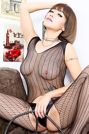 Brunette Asian Model Yuri