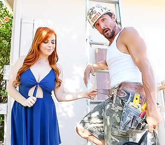 Big Tits Girl Penny Pax Fucking With Repairman