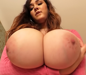 Big Boobs Model Bella Brewer Striptease