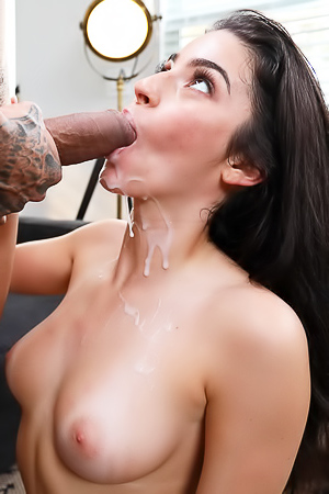 Jasmine Vega First Blowjob On Camera
