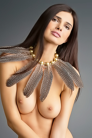 Stunning Brunette Jasmine A With Great Tits