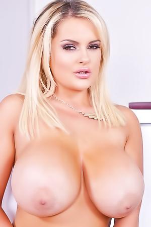Katie Thornton Massive Boobs