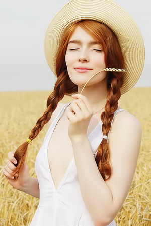 Adorable Jia Lissa is a natural beauty