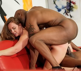 Maddy OReilly Interracial Double Penetration