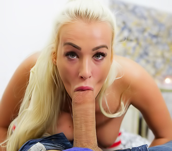 Famous Porn Star Daisy Lee Sucks Cock