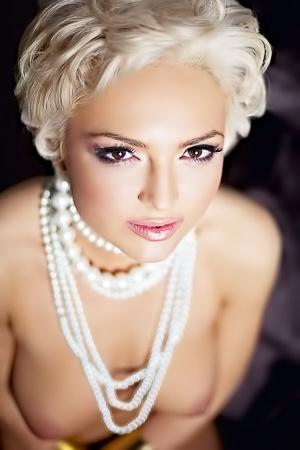 Slovenian Playmate Andrea Vrhovec