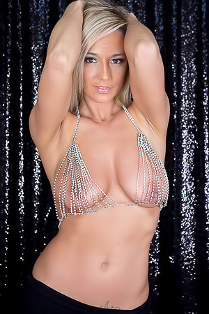 Nikki Sims Diamond Bikini