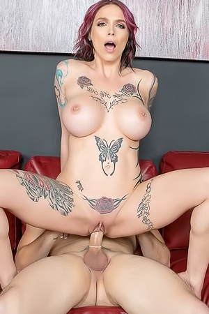 Anna Bell Peaks confessed that she loved panty play and just got wet thinking about all the naughty things they have planned for